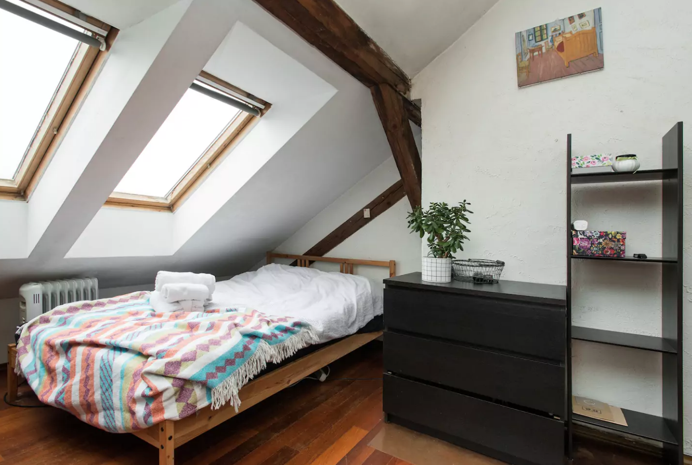 Attic studio between Jewish district & centre - Krakov